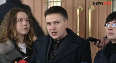 Савченко пришла на допрос в СБУ 15 марта - фото 1