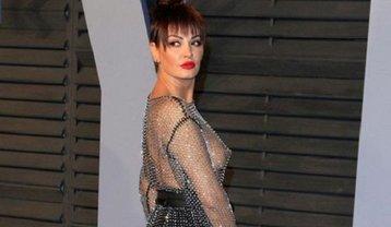Блеона Керети пришла в провокационном наряде на вечеринку Vanity Fair Oscar Party - фото 1