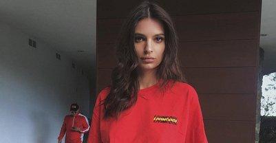 Эмили Ратажковски с косяком заработала более 1,5 млн лайков в Instagram - фото 1