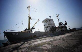 """Судно """"Норд"""" арестовали в Азовском море - фото 1"""