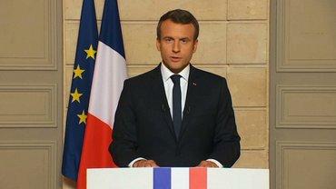 Макрон обвинил Асаде в применении химоружия  - фото 1