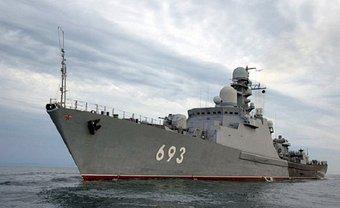 Военные корабли трех разных классов подошли практически вплотную к морским границам Латвии - фото 1