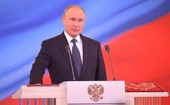 Путин четвертый раз стал президентов РФ - фото 1