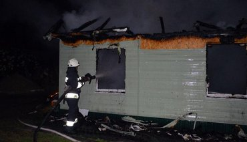 В Днепре пытались сжечь храм УПЦ МП - фото 1