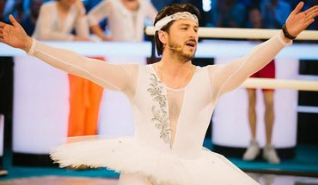 Сергей Притула перевоплотился в балерину - фото 1