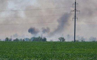 Под Константиновкой взрываются боеприпасы - фото 1