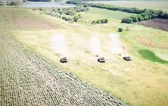 В Украине проверили боеготовность танков - фото 1