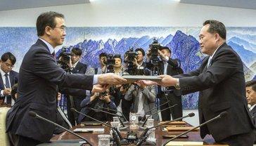 Южная и Северная Кореи возобновили переговоры на высшем уровне - фото 1