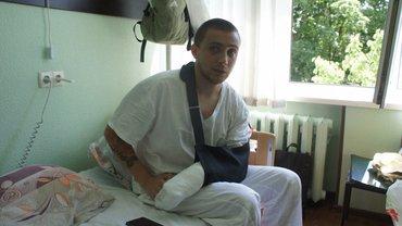Сергей Стерненко на сохранении в Киеве - фото 1