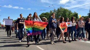 Марш равенства в Киеве - фото 1