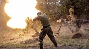 Украинские военные уничтожили позицию артиллеристов ВС РФ - фото 1