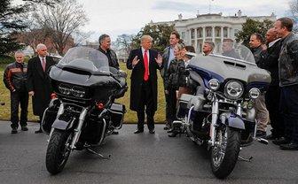 Трамп зол Harleу-Davidson - фото 1