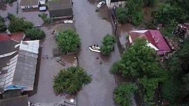 Город полностью затопило - фото 1