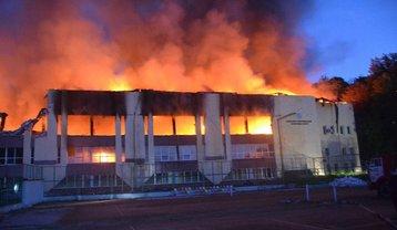 Во Львове на ул. Клепаривской, 39а, возник пожар.  - фото 1