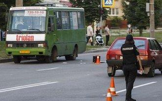 Пьяный харьковчанин угнал маршрутку с пассажирами - фото 1