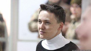 Надежда Савченко объявила голодовку - фото 1
