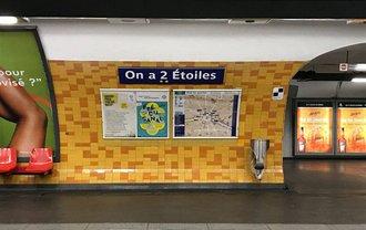 В Париже переименовали станции метро в честь победы на ЧМ-2018 - фото 1