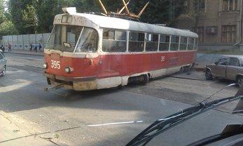 Харьковский трамвайный дрифт - фото 1