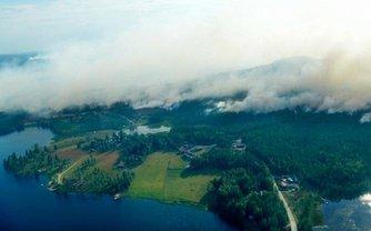 Шведы не могут справиться с пожарами своими силами - фото 1