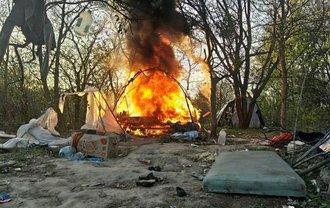 Напавшие на ромов во Львове находятся под стражей - фото 1