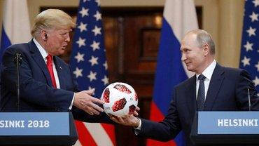 Путин может узнать о планах Трампа через подаренный мяч - фото 1