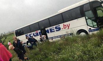 Водитель автобуса заснул за рулем - фото 1