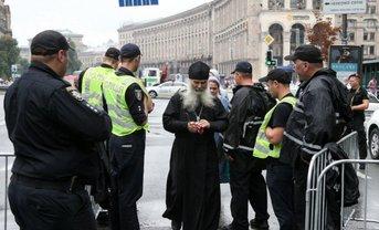 По Киеву прошлись 20 тысяч адептов УПЦ МП - фото 1