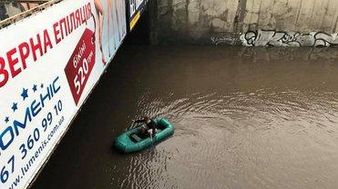 По ряду причин потоп в Киеве может стать регулярной проблемой при дождях - фото 1