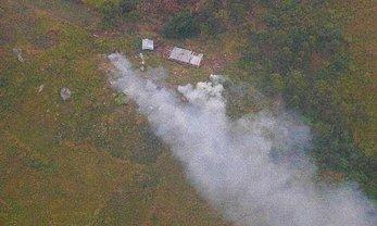 Украинские миротворцы нанесли удар по лагерю боевиков в Конго - фото 1