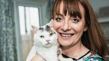 В Великобритании кот спас жизнь своей хозяйке - фото 1