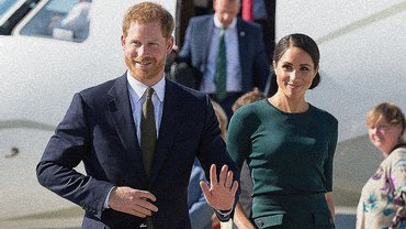 Меган Маркл засветила белье, а принц Гарри пришел в дырявом ботинке - фото 1