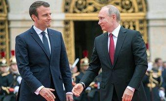 Макрон попросил Путина принять решение по Сенцову - фото 1