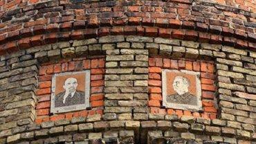 В Черниговской области Сталин и Ленин вдохновляют работников - фото 1