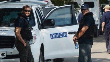 Наблюдатели ОБСЕ сбежали после первых выстрелов - фото 1