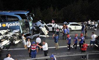 В Турции произошло ДТП с 32 авто - фото 1