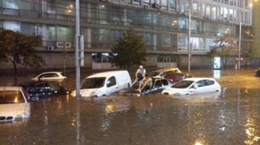 Последствия нового потоп в Киеве - фото 1