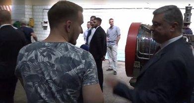 Порошенко в Николаеве продемонстрировал неуважение к журналисту - фото 1
