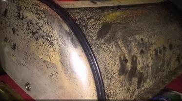 В Армянске металлические предметы покрылись ржавчиной из-за выброса - фото 1