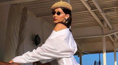 Белла Хадид без белья позировала в откровенной фотосесии - фото 1