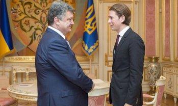 Себастиан Курц пообщался с Порошенко - фото 1