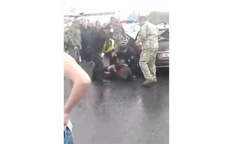 Пытавшегося прорваться через границу иностранца задержали - фото 1
