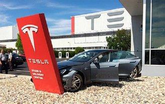 Акции Tesla упали в цене - фото 1