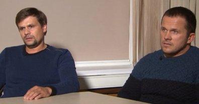Подозреваемые в отравлении Скрипалей Александр Петров и Руслан Боширов  - фото 1
