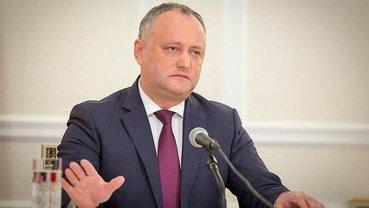 Додон собирается реинтегрировать Приднестровье - фото 1
