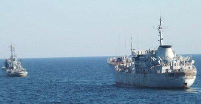 В Черном море ФСБшники следят за суднами ВМС Украины - фото 1