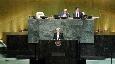 Тереза Мэй жестко выступила на Генассамблее ООН - фото 1