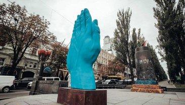 Временный арт-объект создал румынский скульптор  - фото 1