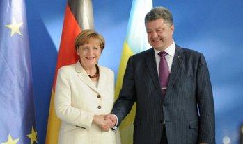 Порошенко и Меркель договорились продолжить миротворческие усилия - фото 1