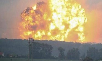 Взрывы в Ичне продолжаются - фото 1