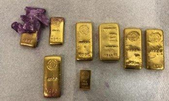 В емкости с краской в Украину отправили 1,64 кг банковского золота - фото 1